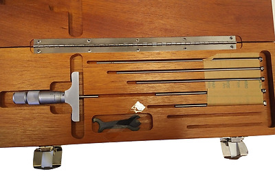 """Depth Mike 0 to 6"""" 599-603-126-2 Inspection Micrometer - Brown & Sharpe (A-0013)"""