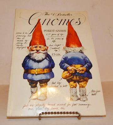 Gnomes Paperback First Edition Signed By Rien Poortvliet & Wil Huygen 1979