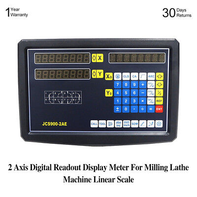 2 Axis Digital Readout For Milling Lathe Machine With Precision Linear Scale UDD