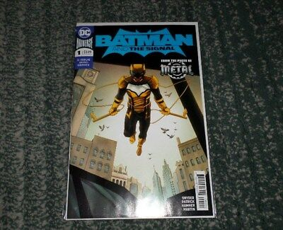 Batman And The Signal #1 Variant Cover Scott Snyder Dark Metal Comic Book, Vf/nm