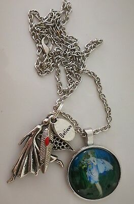 Code 738 Cabochon infused Fairy Believe Necklace Doreen Virtue Practitioner