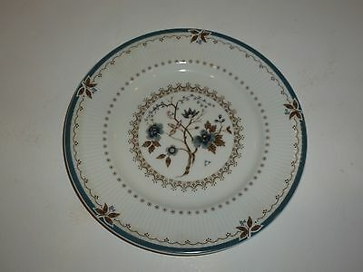 Lovely Royal Doulton Old Colony Plate, Blue and Brown, 8-1/8""