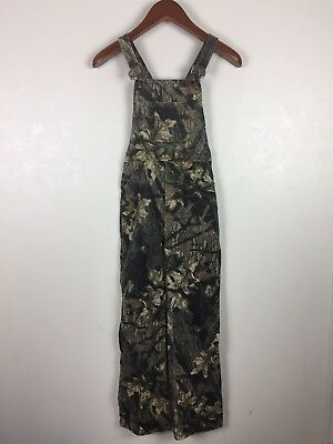 j. Tuohys Youth Bib Overalls Size 12 Breakup Camo Hunting Outdoors Camouflage m1