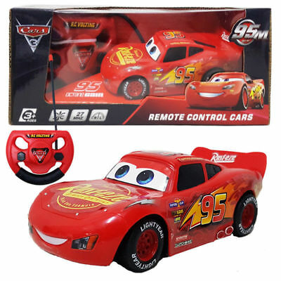 15Cm Disney Pixar Lightning Mcqueen Electric Rc Radio Remote Control Car Kid Toy