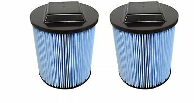 2 Ridgid 3 Layer Replacement Filters Fit 6 20 Gallon Cartridge Wet Dry Vacuum NE