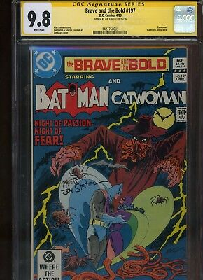 Brave and the Bold #197 CGC 9.8 SS Joe Staton HIGHEST single graded in SS