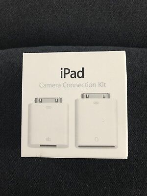NGW OEM Apple iPad Camera Connection Kit A1362 IN BOX A1358 Adapters