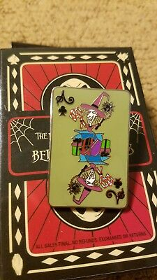 Nightmare Before Christmas Playing Card Mystery Shock Disney Pin 110367