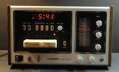 HANIMEX All-In-One Model PS 1000 8 Track Stereo Aux In AM/FM