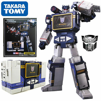 MP-13 Soundwave Destron Communication Transformers Masterpiece Figure KO Toy
