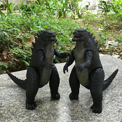 2pcs Godzilla Action Figures Kids Child Boy Display Figurines Set Toy 17cm