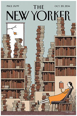 """The New Yorker Cover Oct 2014 Art Print Poster 16"""" x 24"""""""
