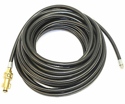 10m Flexible Drain Hose - Retrojet Nozzle Bosch Pressure Washer Cleaning