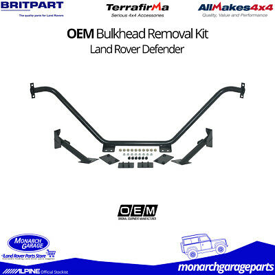 Land Rover Defender Bulkhead Removal Kit DA1810