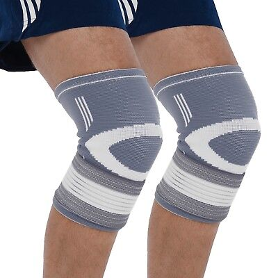Bionix 2-Pack Compression Knee Sleeves Best Support Brace Fitness