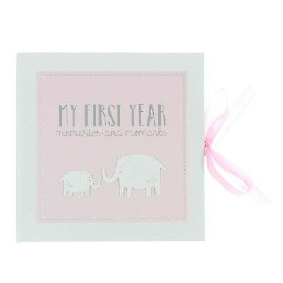 Baby Record Book Keepsake Gift Pink