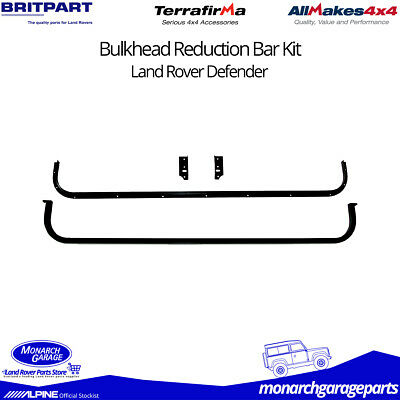 Land Rover Defender Bulkhead Bar Kit for Extra Leg Room DA2351
