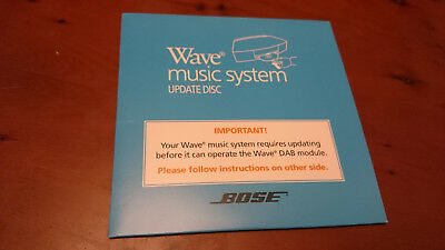 BOSE Wave AWRCC and Wave Music System DAB Module Update Disk