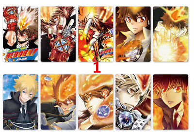 8 Pcs Anime Hitman Reborn Poster A3 Home Decor Posters Cosplay For