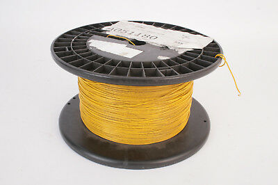600m Cable fil UL1007 20AWG Jaune - E41105-M AWG20 Yellow