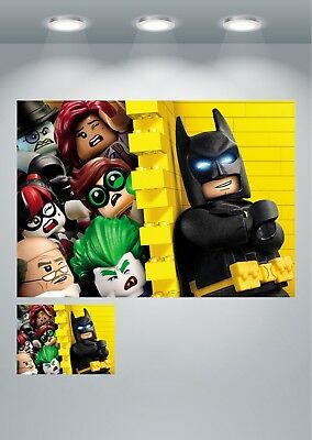 The Lego Batman Movie Characters Large Poster Art Print