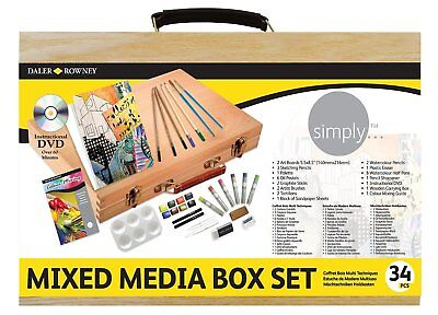 Daler Rowney Simply Mixed Media Box Set