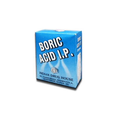 BORIC ACID Powder Roach Pest Insect Control Bug Killer 100 gm Each Pack New