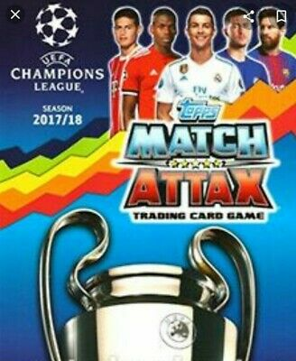 Champions League Topps Match Attax Limited Editions 100 Club Hat Trick Heros