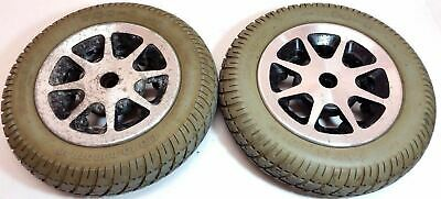 Pride Jazzy 1101 14x3 Drive Wheels for Electric Wheelchairs- Pr1mo Durotrap