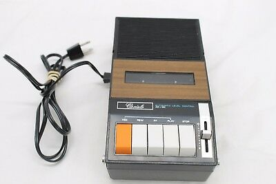 Vintage Cariole Portable Cassette Player Recorder Model 19545 FOR PARTS ONLY