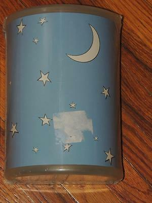 Ikea Tassa Natt Sconce Wall Light Lamp Moon Stars Blue New