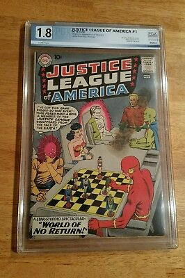 Justice League Of America  # 1 ,  1960 !!