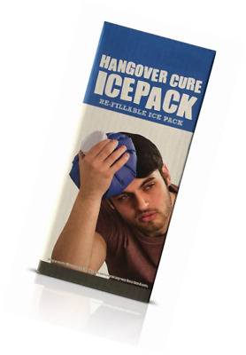 Hangover Cure Ice Lot rechargeables Sac à glace