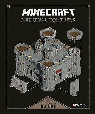 New Minecraft: Exploded Builds: Medieval Fortress: An Official Minecraft Book fr