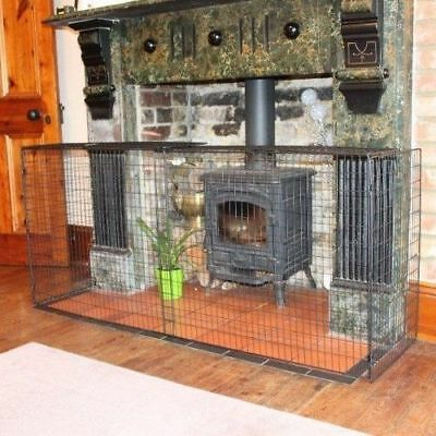Children Fireplace Guard Baby Extendable Stove Firescreen Safety Fire Protector