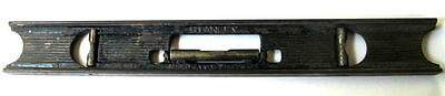 """Vintage 18"""" Stanley No. 36 Cast Iron Bubble Level-Carpentry/Woodworking Tool"""