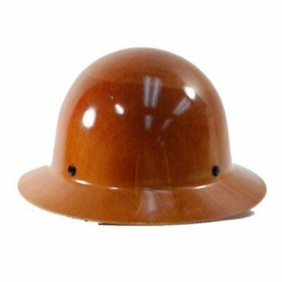 NEW MSA Safety 475407 Tan Skullguard Hat with Ratchet S