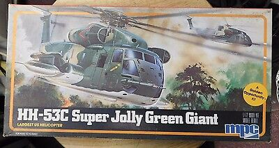 MPC Models HH-53C Super Jolly Green Giant Helicopter Model Kit #1-4401