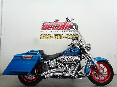 Harley Davidson Fat Boy  2014 Harley Davidson Softail Fat Boy FLSTF cruiser custom financing shipping