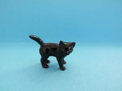 "LITTLE CRITTERZ CAT ""OYNX"" BLACK KITTEN FIGURINE WITH GIFT BOX *Mint Condition*"