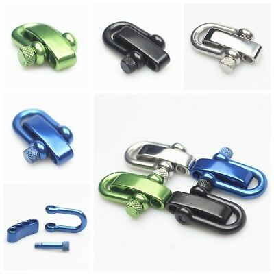 304 Stainless Steel Adjustable U Shaped Shackle Buckle for Survival Paracord