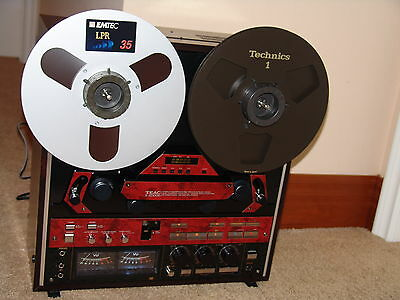 Mint Custom Made Black Teac X 2000R Reel To Reel Tape Recorder Fully Recapped