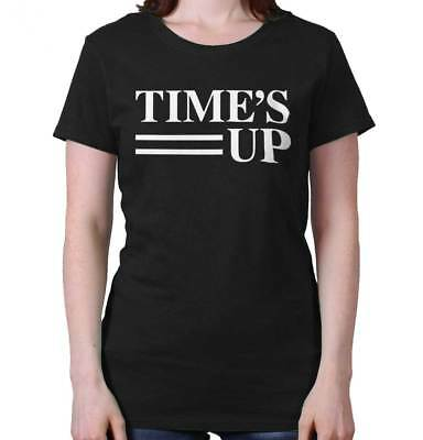Times Up Oprah 2020 Feminist Equality Me Too Support Ladies T-Shirt