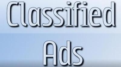 Will Post Your Ads On 50 Classified Sites Manually
