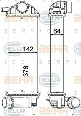 HELLA Intercooler charger - 8ML376912-111