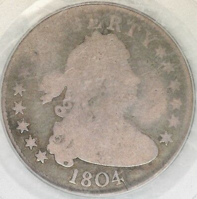 1804 Draped Bust Quarter PCGS AG03