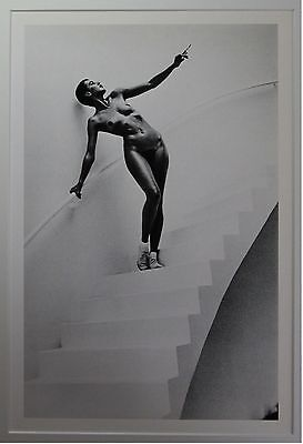 """Helmut Newton - """"In my Studio"""" - original Photo Litho - Special Collection"""