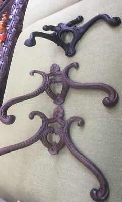 Vintage Antique Style Cast Iron Wall Hooks