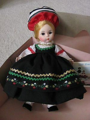 "New In Original Box Vtg 8"" Madame Alexander Finland International Series # 561"