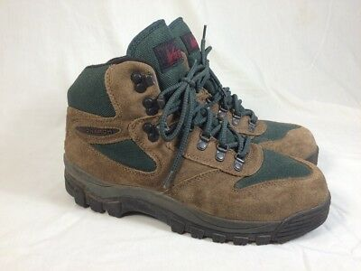 351a5955efe MERRELL REI MONARCH IV Hiking Boots 9.5 Brown/Green Leather & Nylon Womens